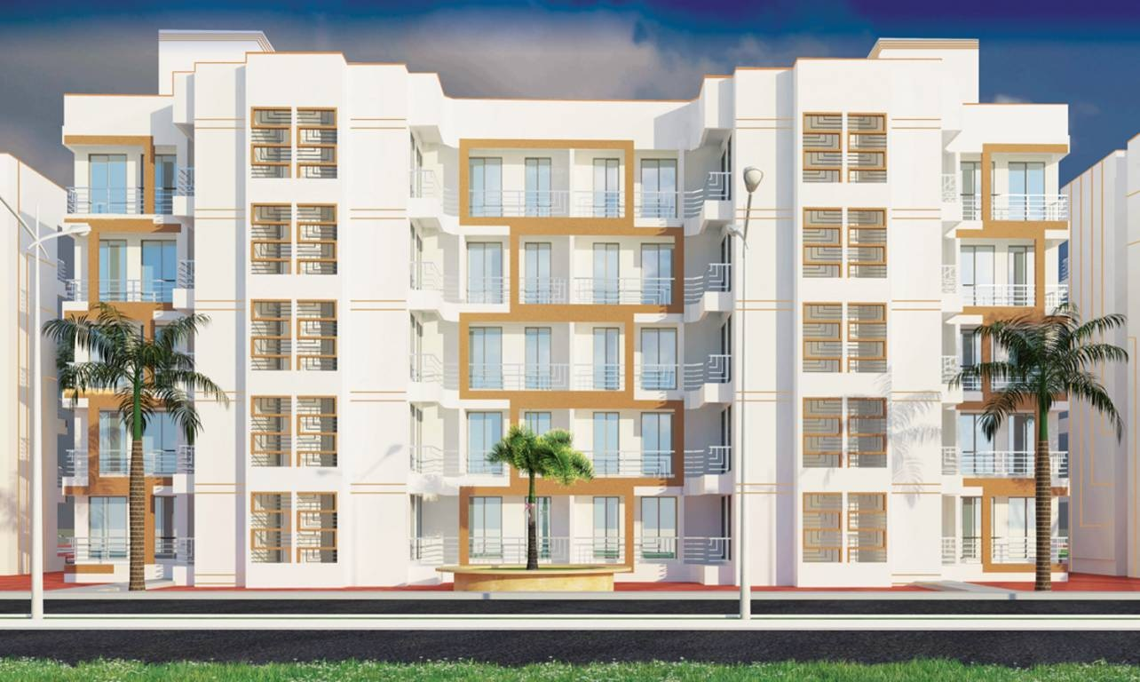 panchtatva appartment project tower view1