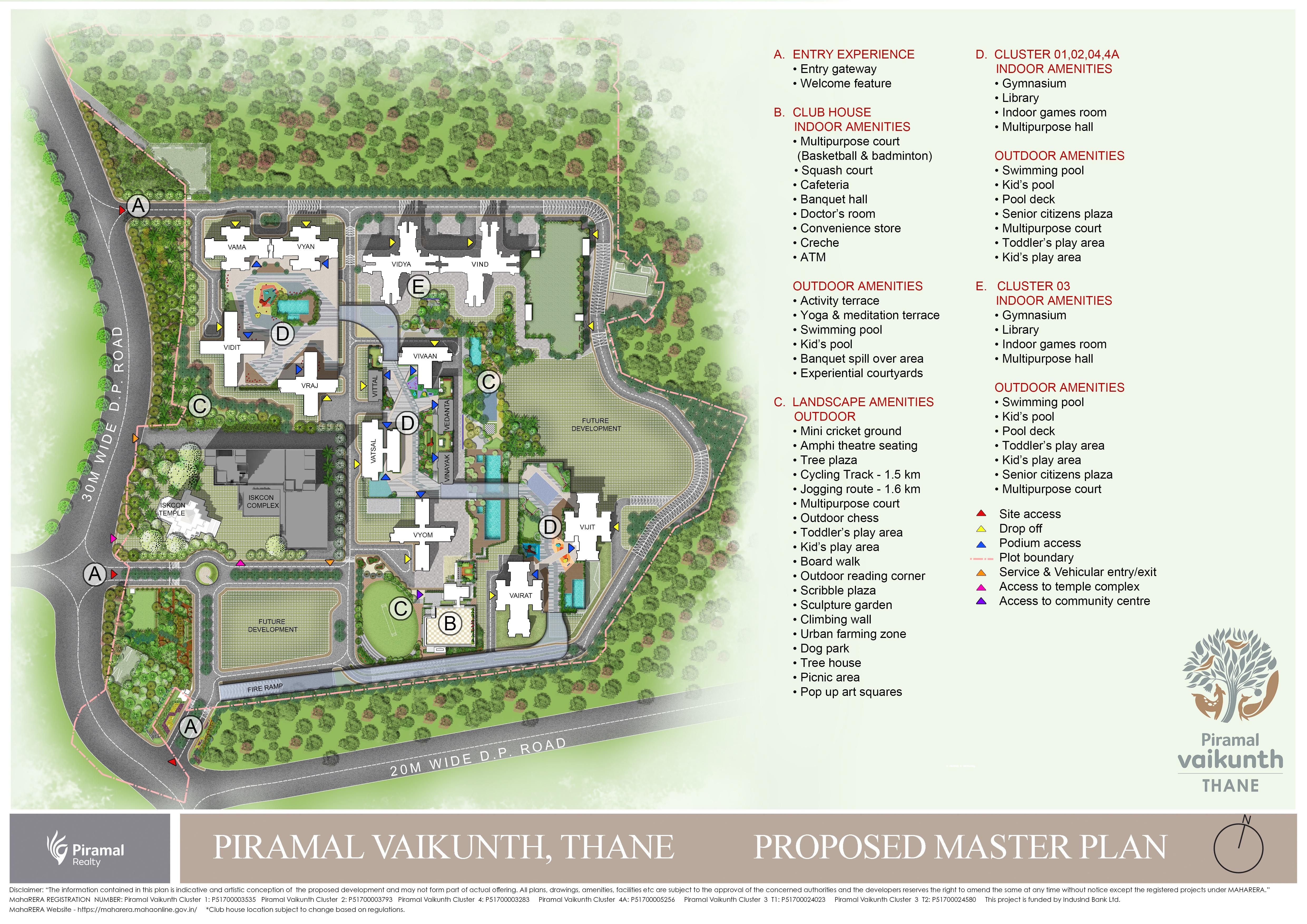 piramal vaikunth a class homes series 2 master plan image12