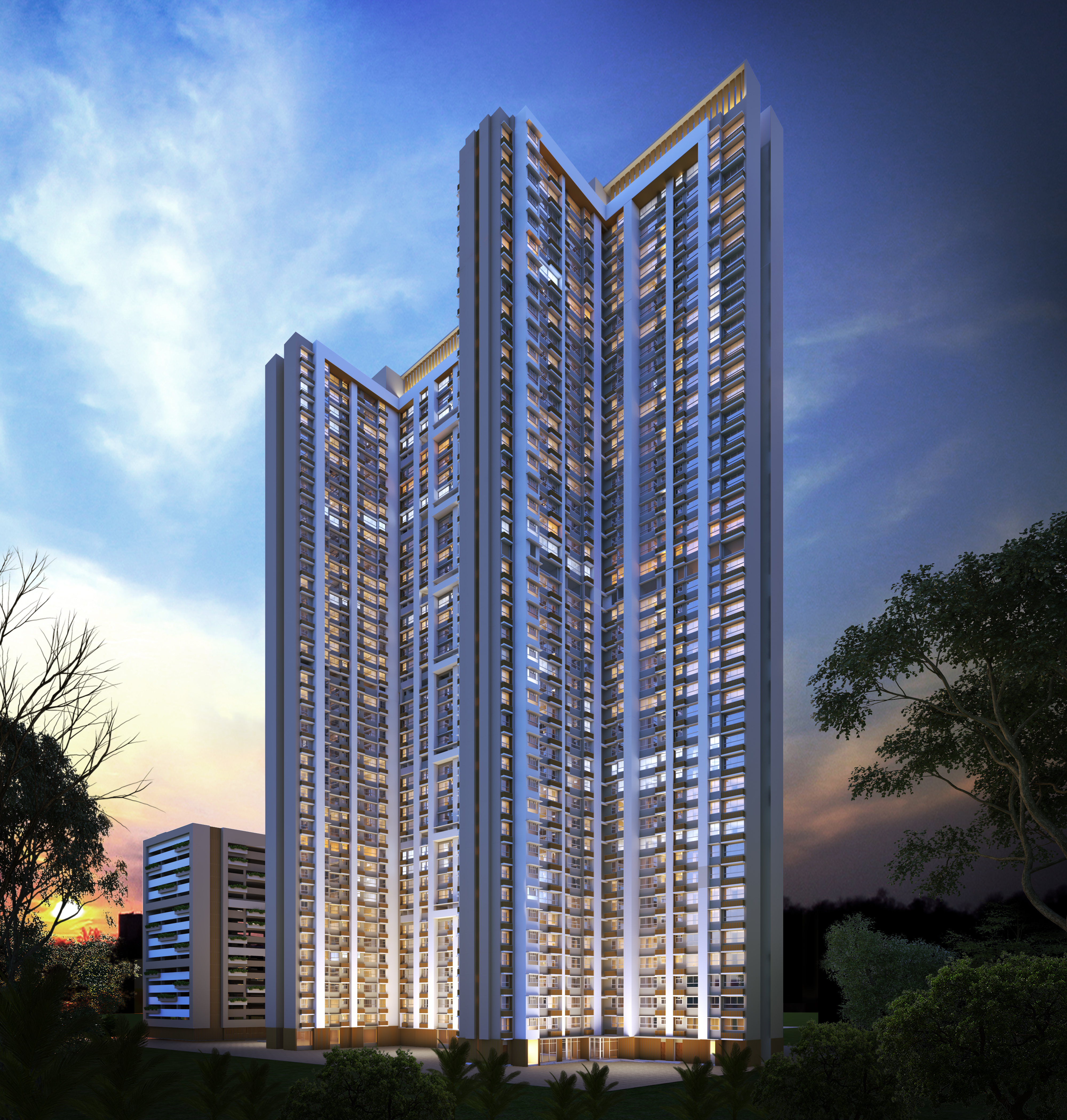 piramal vaikunth a class homes series 2 tower view16