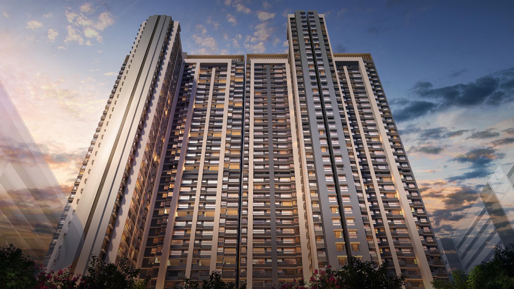 piramal vaikunth a class homes series 2 tower view17