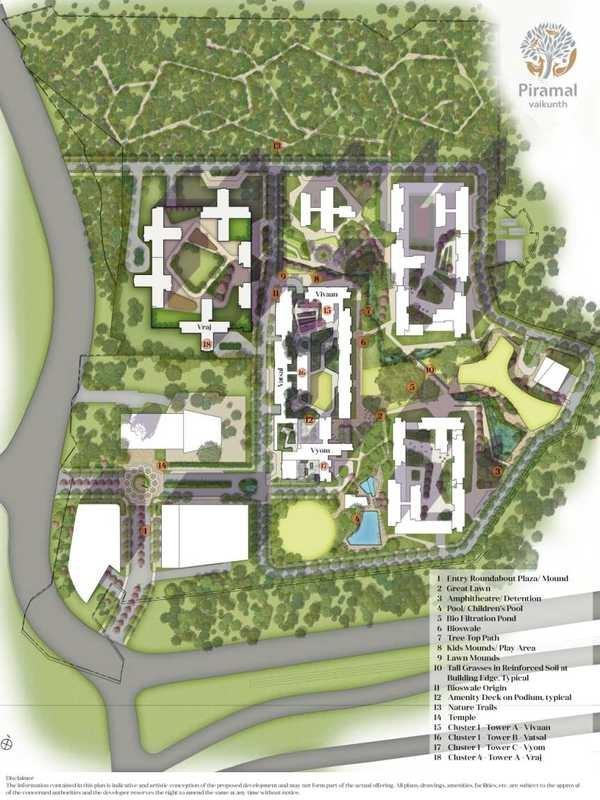 piramal vaikunth phase ii master plan image6