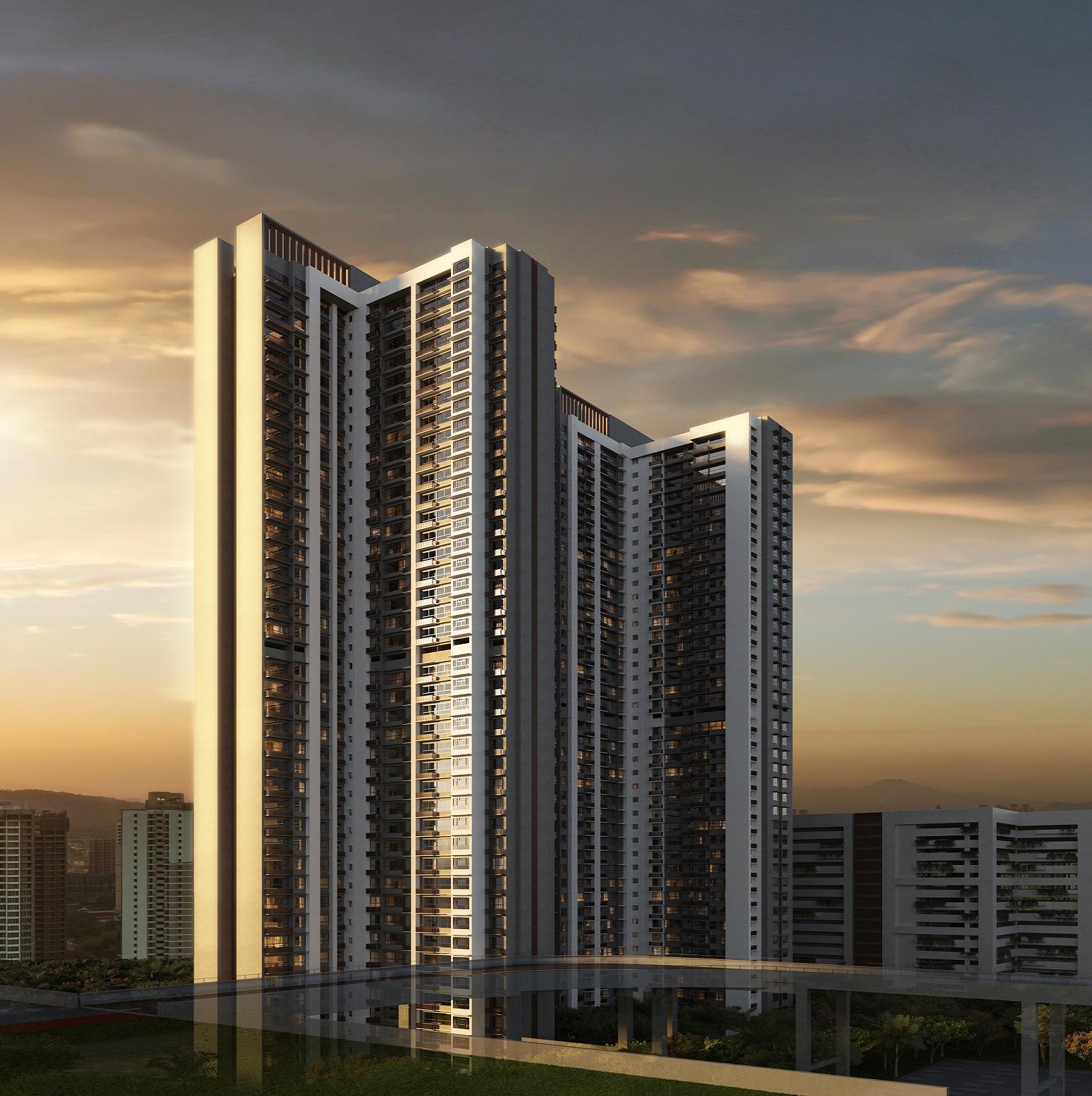 piramal vaikunth project tower view2