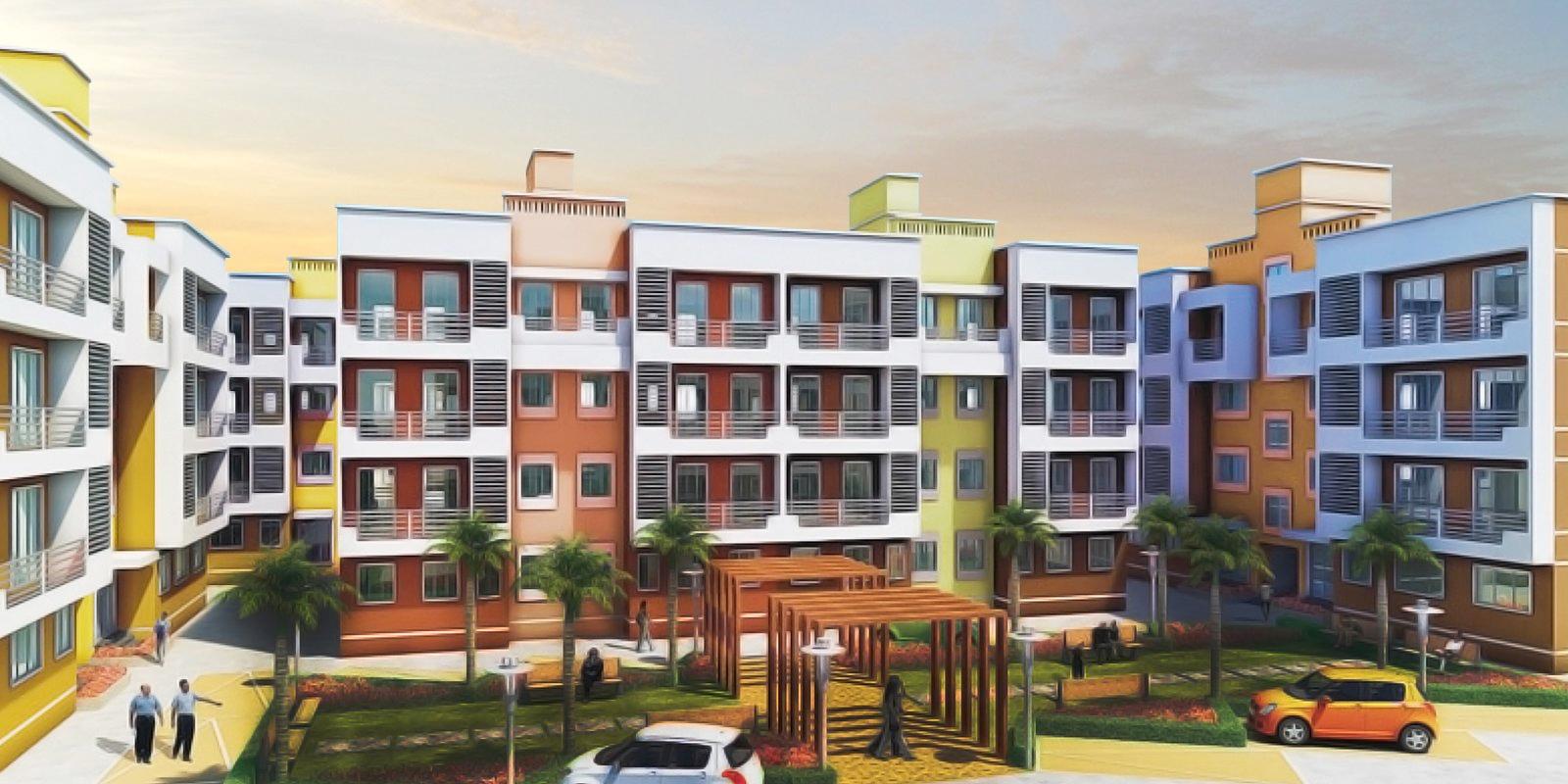 poddar housing samruddhi evergreens project large image1