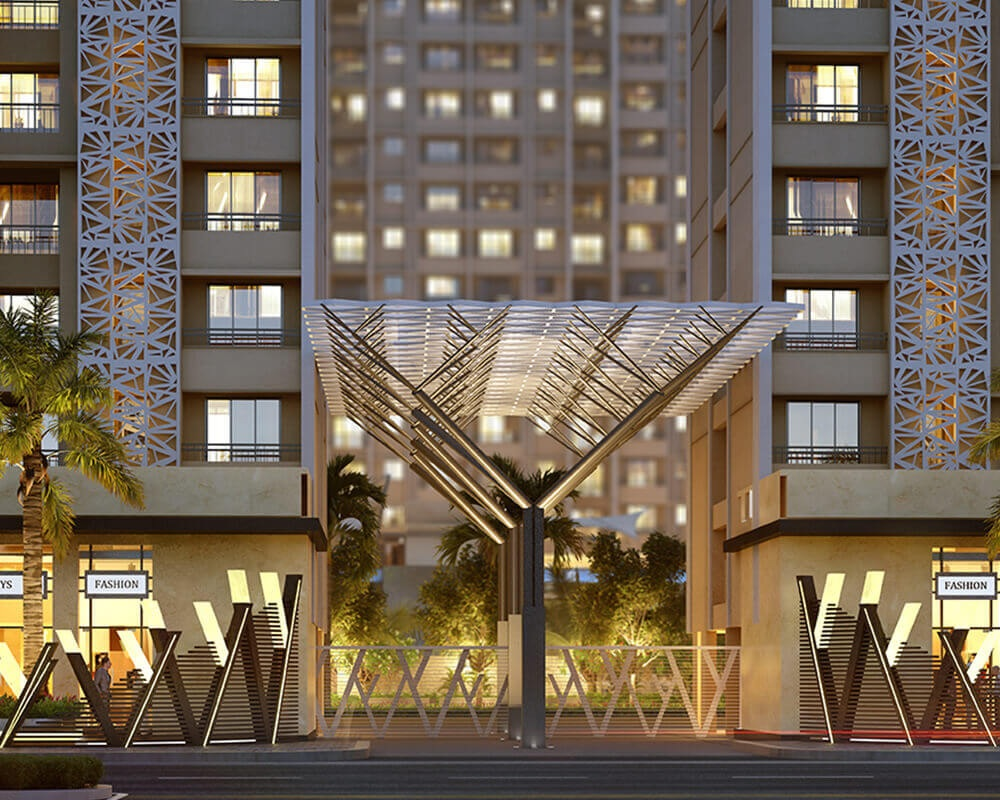 raunak city sector 4 d2 entrance view9