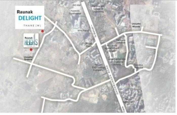 raunak delight project location image1