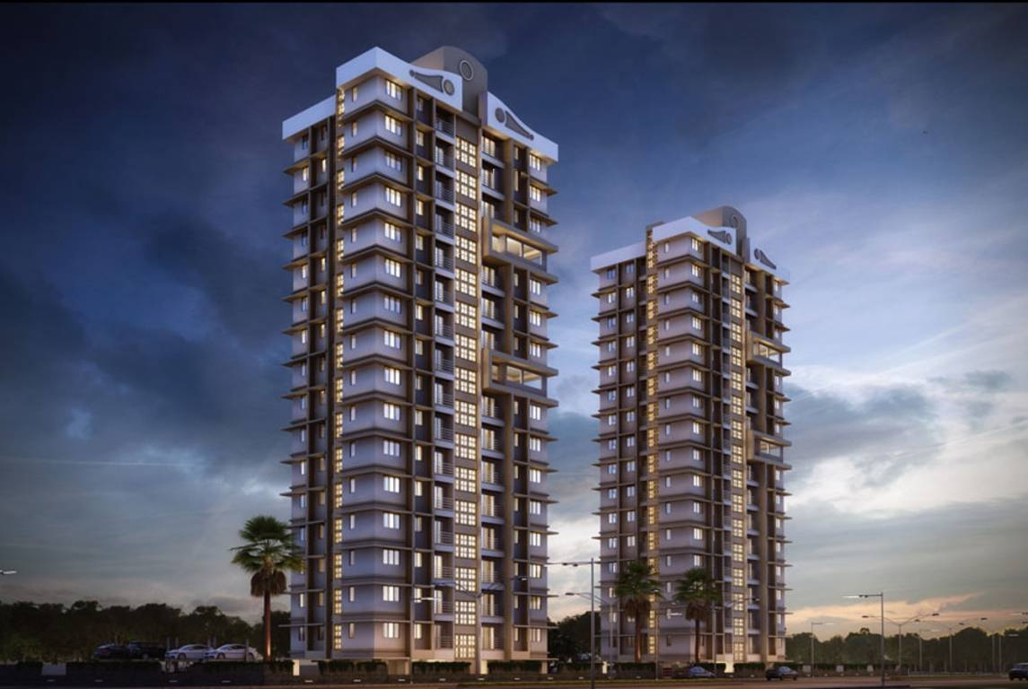 raunak delight project tower view1