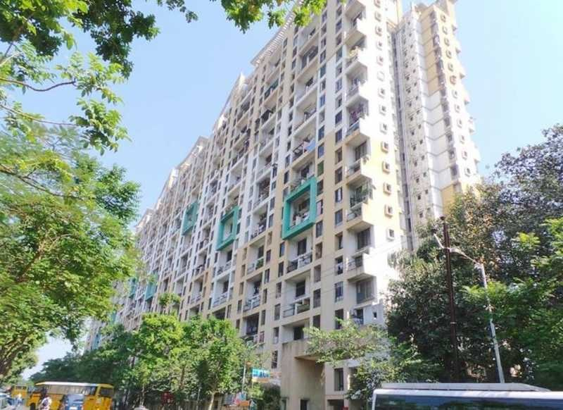 raunak laxmi narayan residency project tower view1