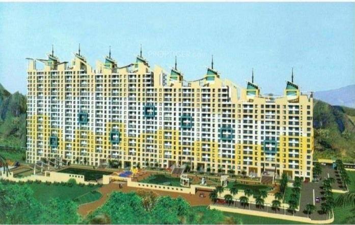 raunak laxmi narayan residency project tower view2