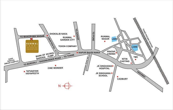 runwal doris location image5