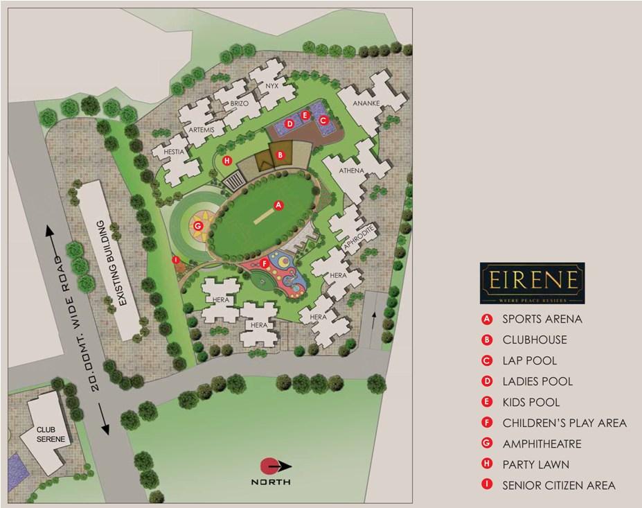 runwal eirene master plan image1