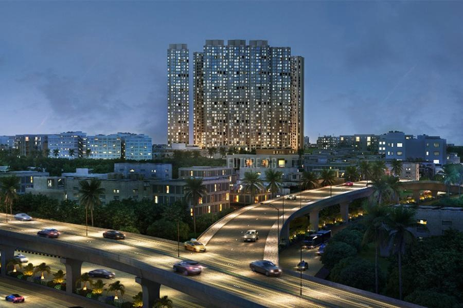 runwal eirene project tower view1