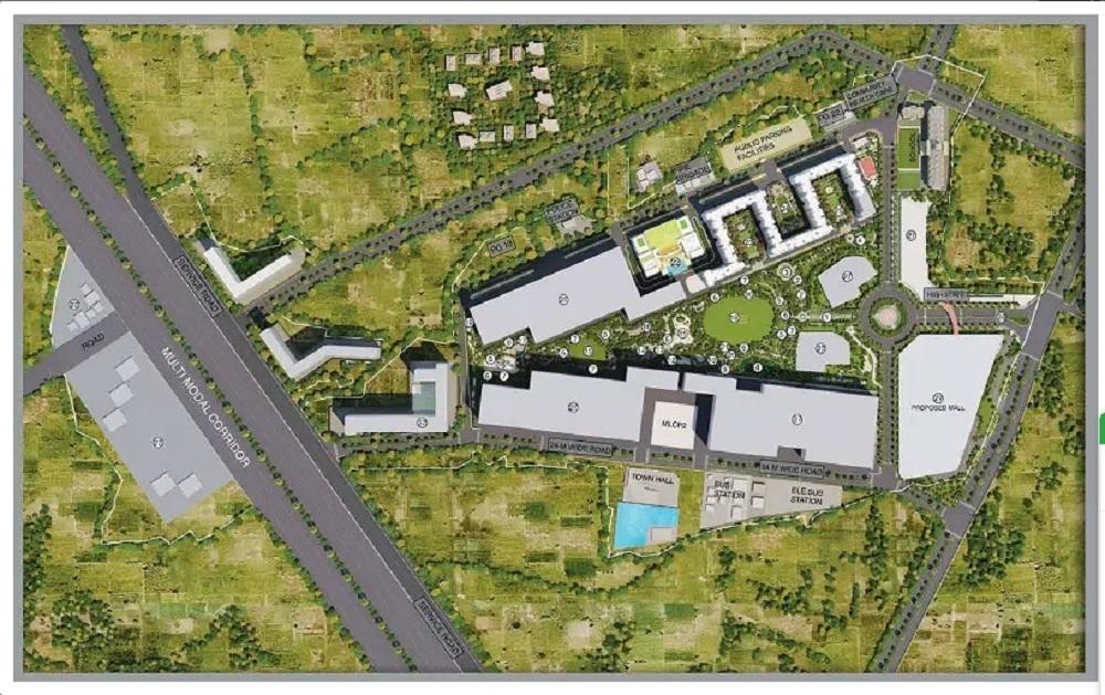 runwal gardens phase 2 project master plan image1