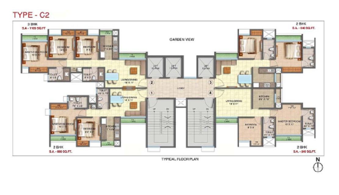 runwal my desire project floor plans1