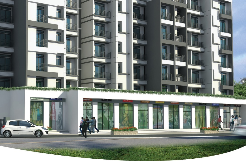 shree hari residency project tower view1
