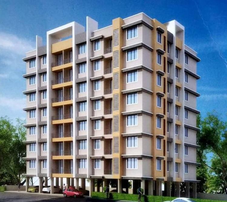 shreenath gajanan heights project tower view1