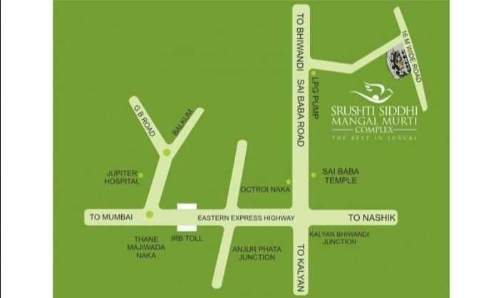 srushti siddhi mangal murti complex project location image1