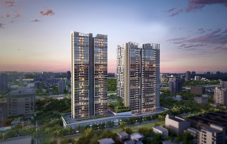 tata serein project tower view2