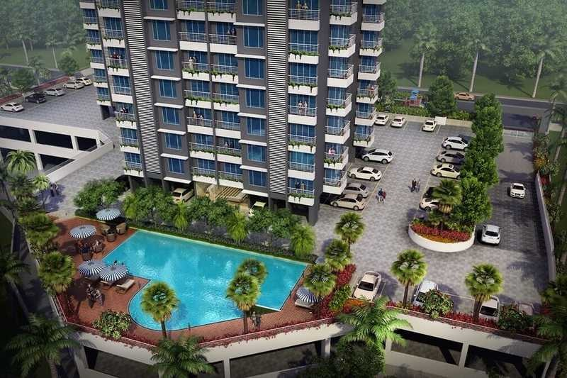 the wadhwa platina project tower view2