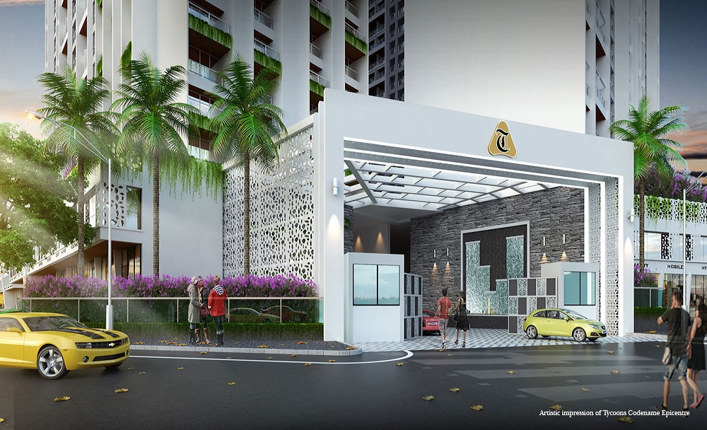 tycoons codename epicentre project entrance view1