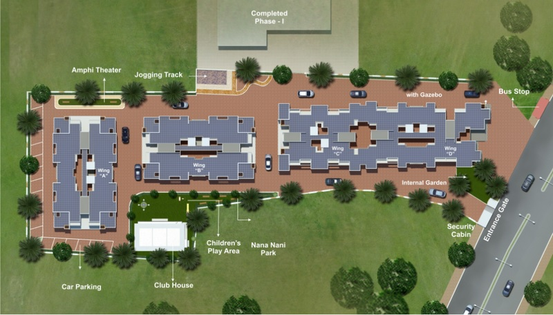 vishnu vatika project master plan image1