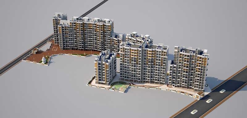 vishnu vatika project tower view1