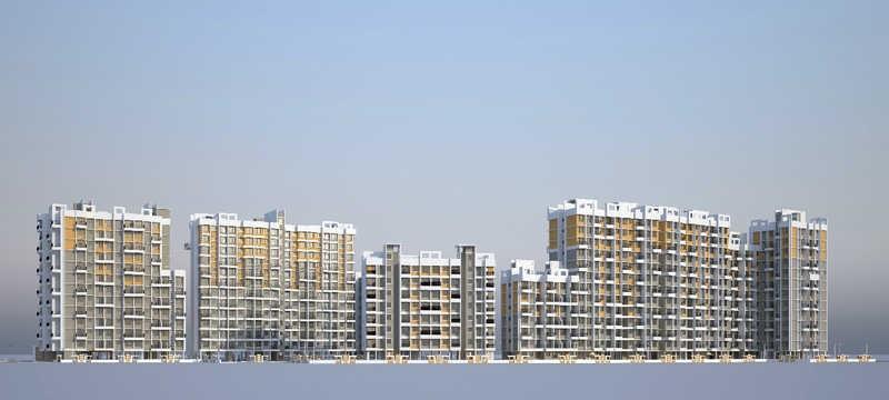 vishnu vatika project tower view2