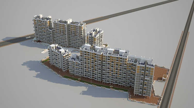 vishnu vatika project tower view4