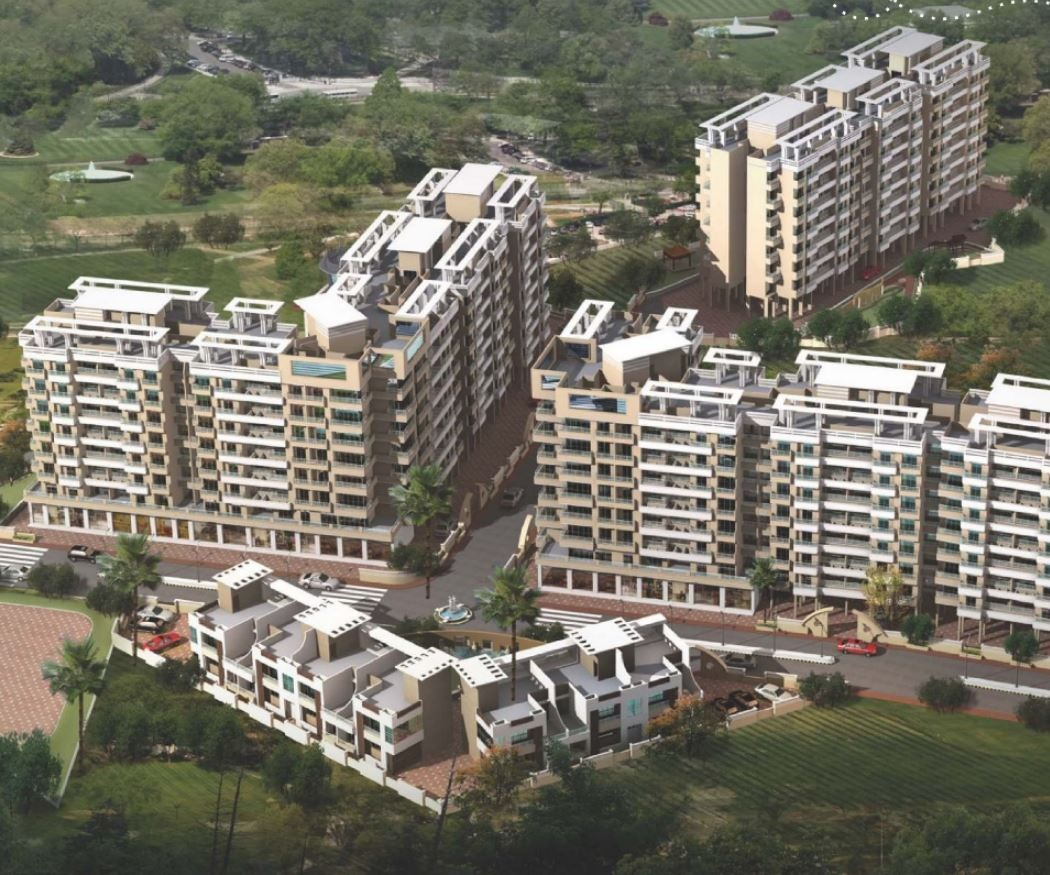 wadhwa daisy gardens project tower view1