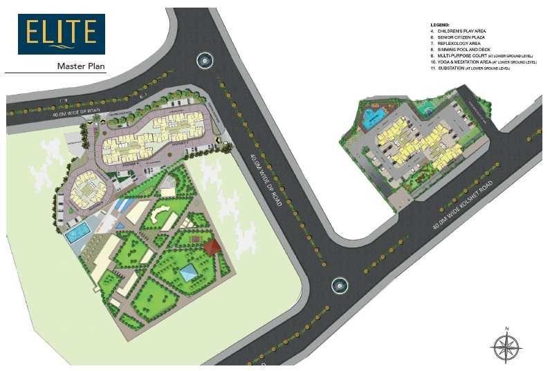 wadhwa elite platina 19 project master plan image1