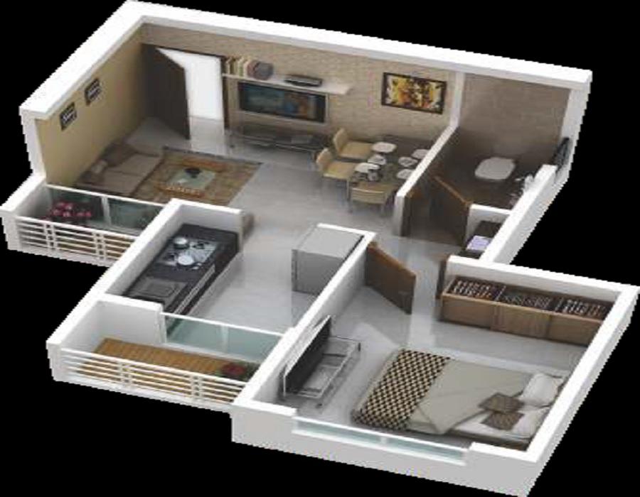 a plus trishul golden ville apartment 1bhk 320sqft21