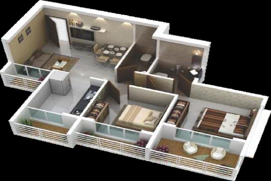 a plus trishul golden ville apartment 2bhk 395sqft31