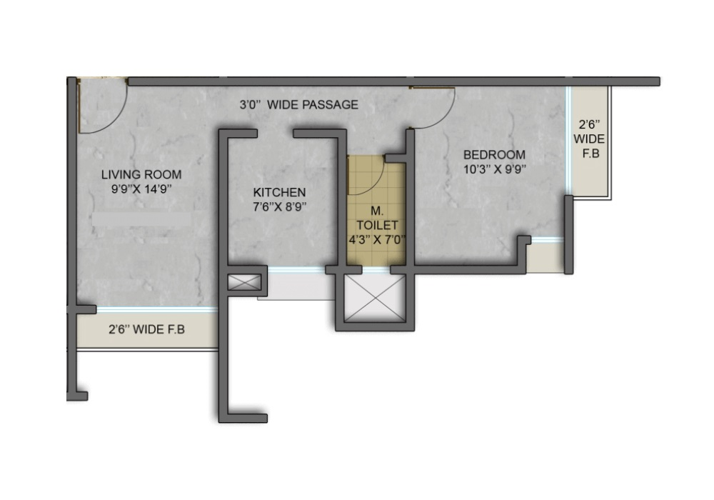 aryan one wing g and h apartment 1 bhk 344sqft 20214007094046