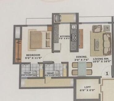 bhoomi acres m wing apartment 1bhk 520sqft21