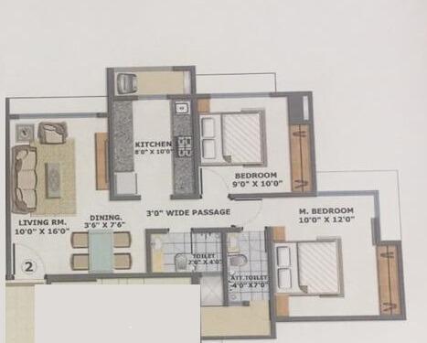 bhoomi acres m wing apartment 2bhk 995sqft21