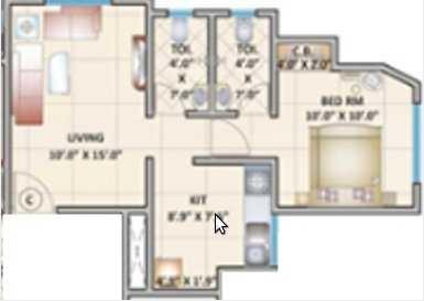 cosmos pride apartment 1 bhk 420sqft 20202419162426