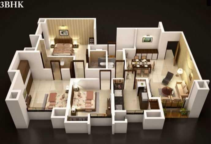 dosti vidisha apartment 3bhk 1508sqft 20202025122041