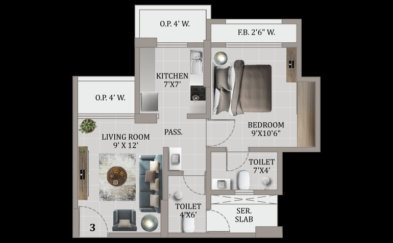 giriraj sarvoday greens apartment 1 bhk 390sqft 20205029105008