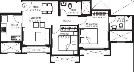 hiranandani obelia the walk apartment 2bhk 552sqft51