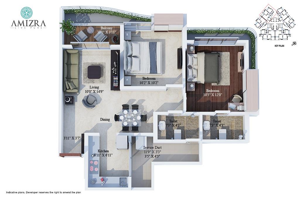 jagdale amizra apartment 2 bhk 933sqft 20201107141123