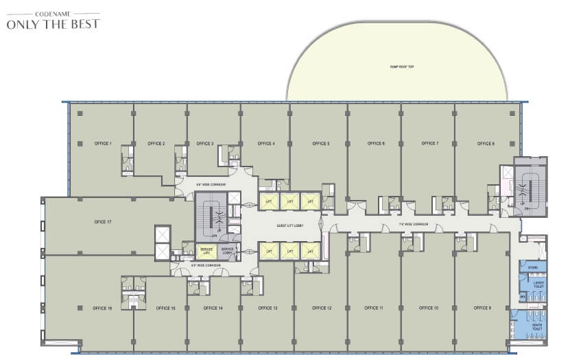 lodha codename only the best office space 1800sqft 1