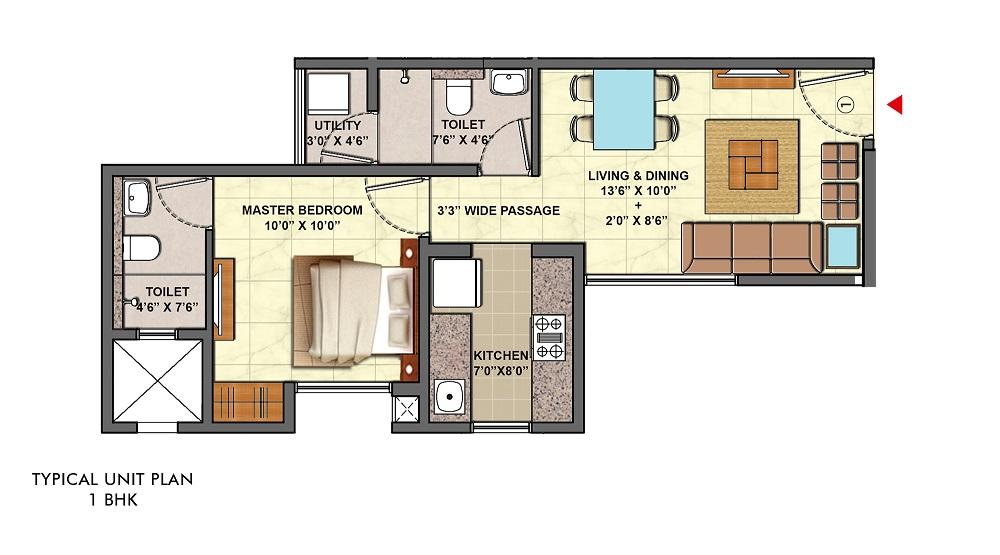 lodha palava aurelia d to g apartment 1bhk 398sqft01