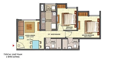 lodha palava clara a to d and d1 apartment 2bhk 526sqft31