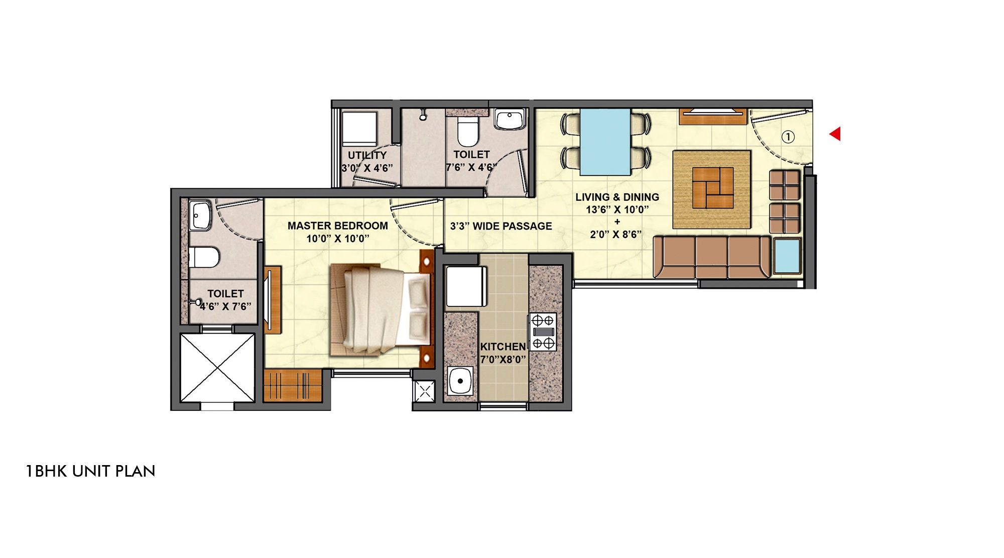 lodha the centre apartment 1 bhk 774sqft 20203412193435