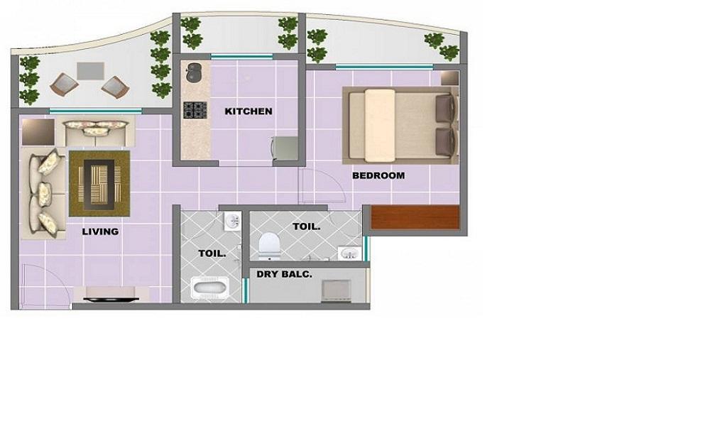 nirmal thames apartment 1 bhk 326sqft 20204704174733