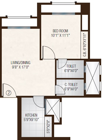 one hiranandani park apartment 1 bhk 471sqft 20214520114510