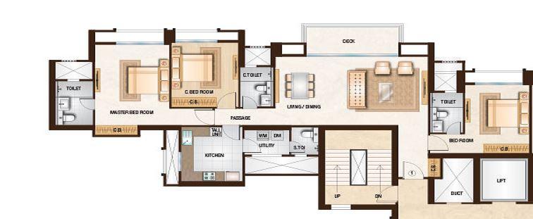 one hiranandani park apartment 3 bhk 1433sqft 20214220124236