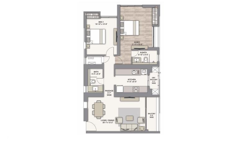piramal vaikunth phase ii apartment 2 bhk 700sqft 20212403112419