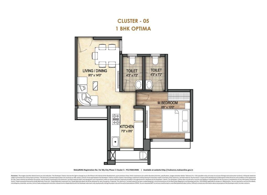 runwal my city apartment 1 bhk 377sqft 20204526184546