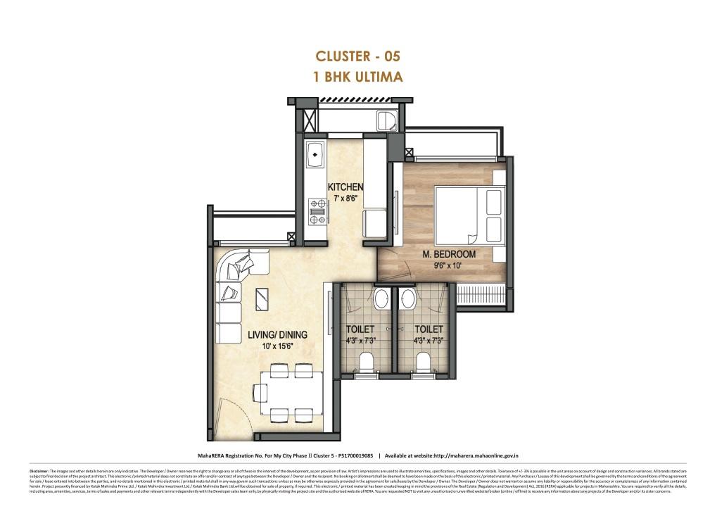 runwal my city apartment 1 bhk 433sqft 20204626184645