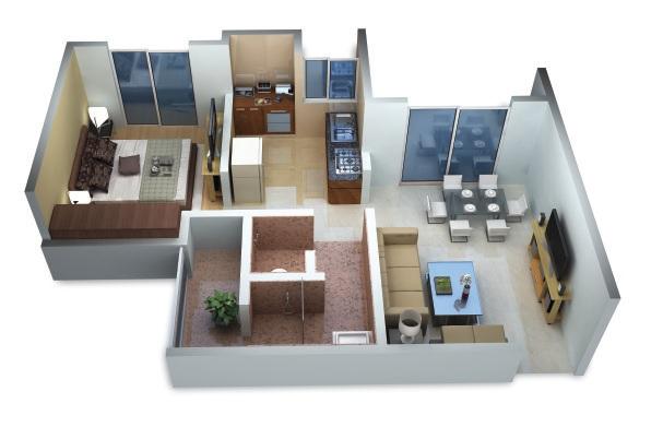 shree hari residency apartment 1 bhk 379sqft 20202508142517